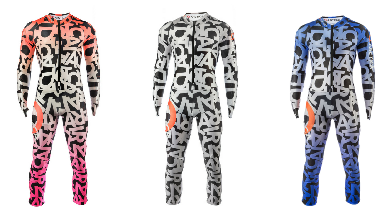 Pre-order your new Arctica Ski Race Suit the Alpha GS Suit. Available in 3 colors.