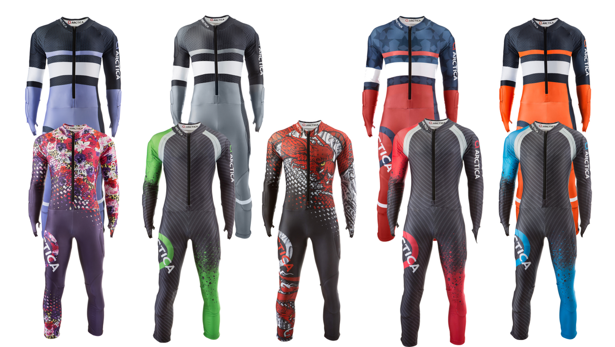 Returning Arctica GS Suits for 2018 that are available for pre-order now.