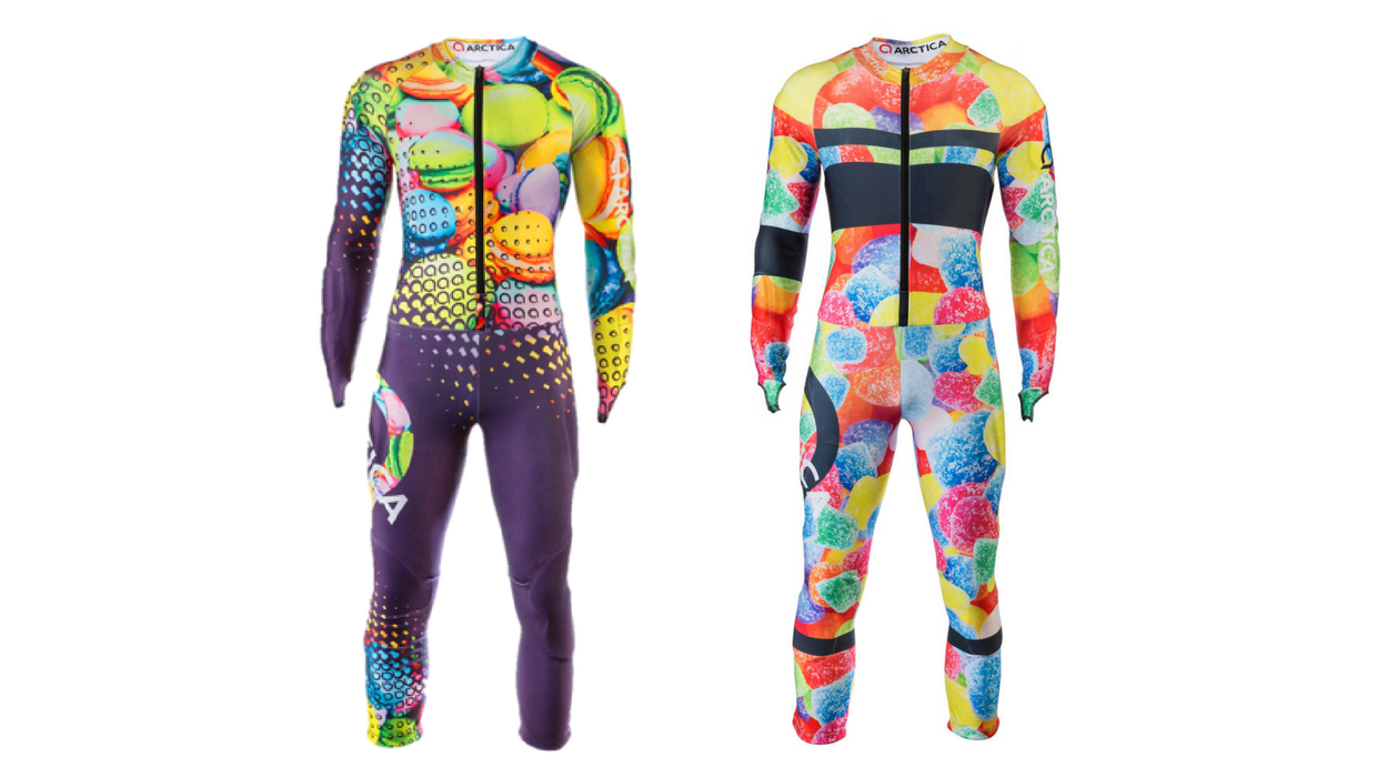 The Arctica Macaroon and Gumdrop GS suits are available for pre-order now.