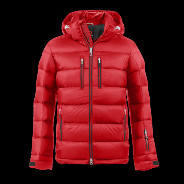 The Arctica classic down jacket in red