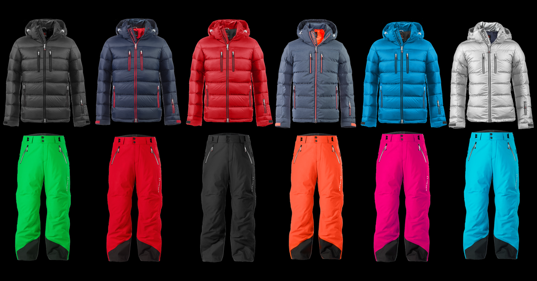 Arctica Classic Down Jacket with Arctica Side Zip 2.0 pants