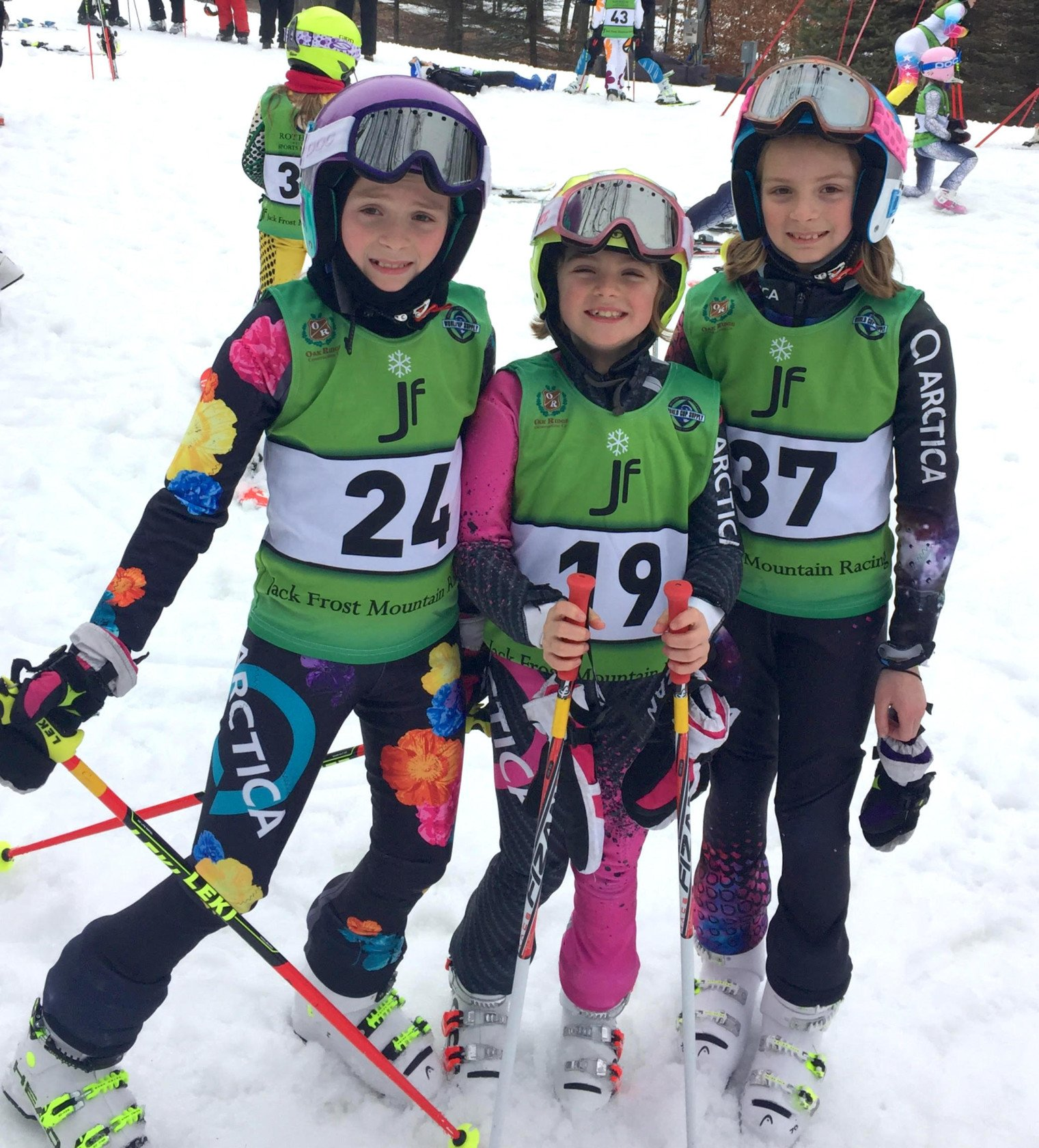 No matter what they age, they love the Arctica ski racing suits for girls.