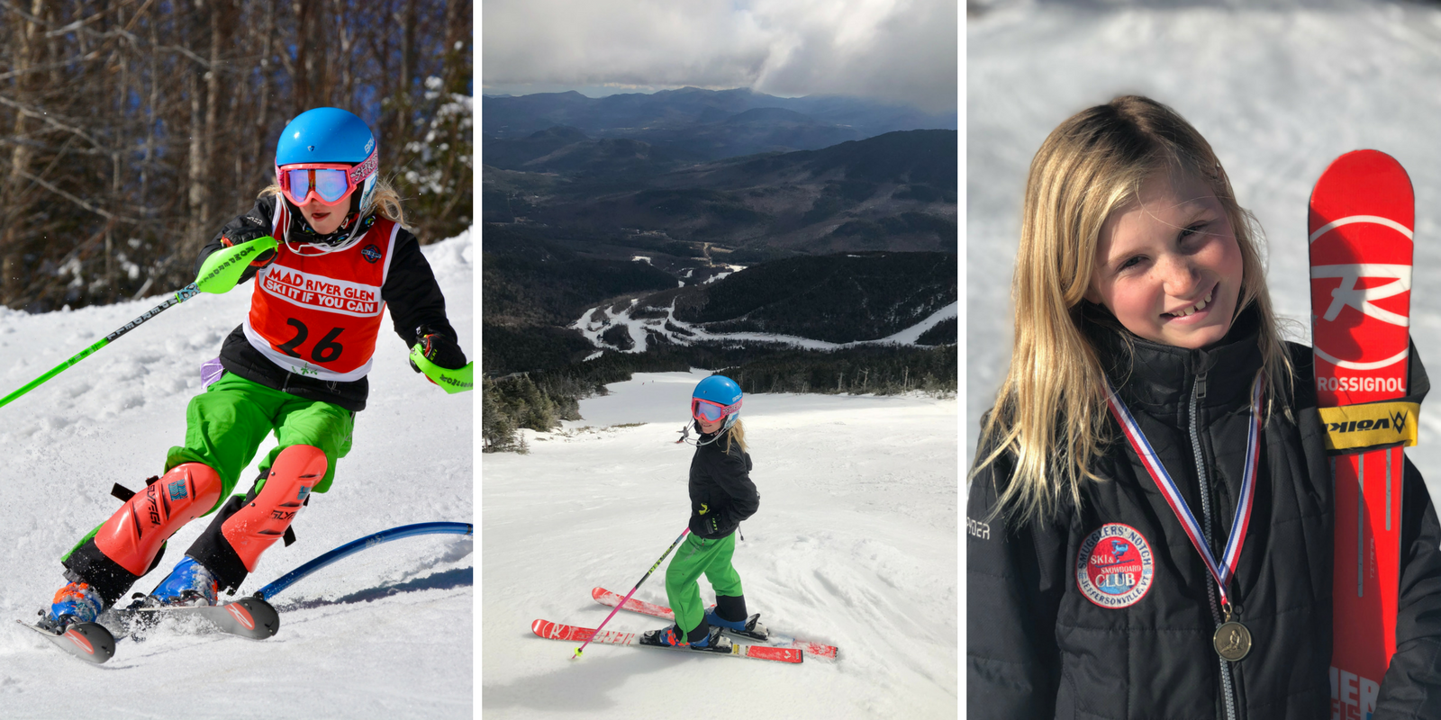 Vermont ski racer Chloe Avery of Smugglers Notch Ski and Snowboard Club lives by the mantra Always Be Faster Than the Boys (A.B.F.T.T.B.)