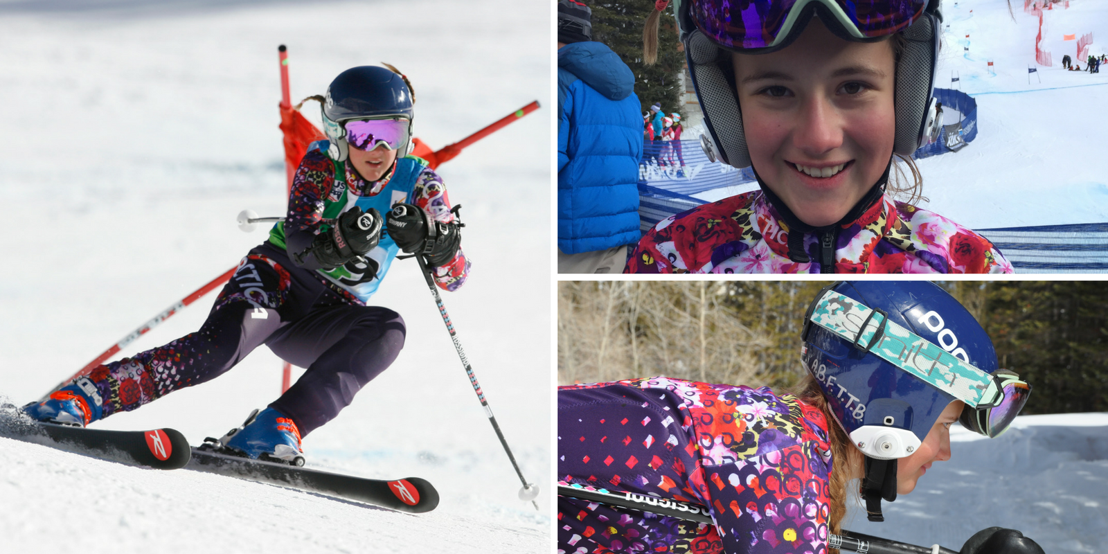 Snowbird Ski Team ski racer Emily Grace lives by the Mikaela Shiffrin mantra Always Be Faster Than the Boys (A.B.F.T.T.B.)