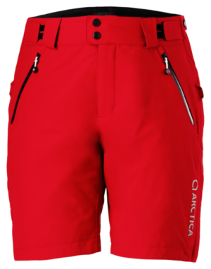 Adult 2.0 Training Shorts - Red, X-Small on Arctica