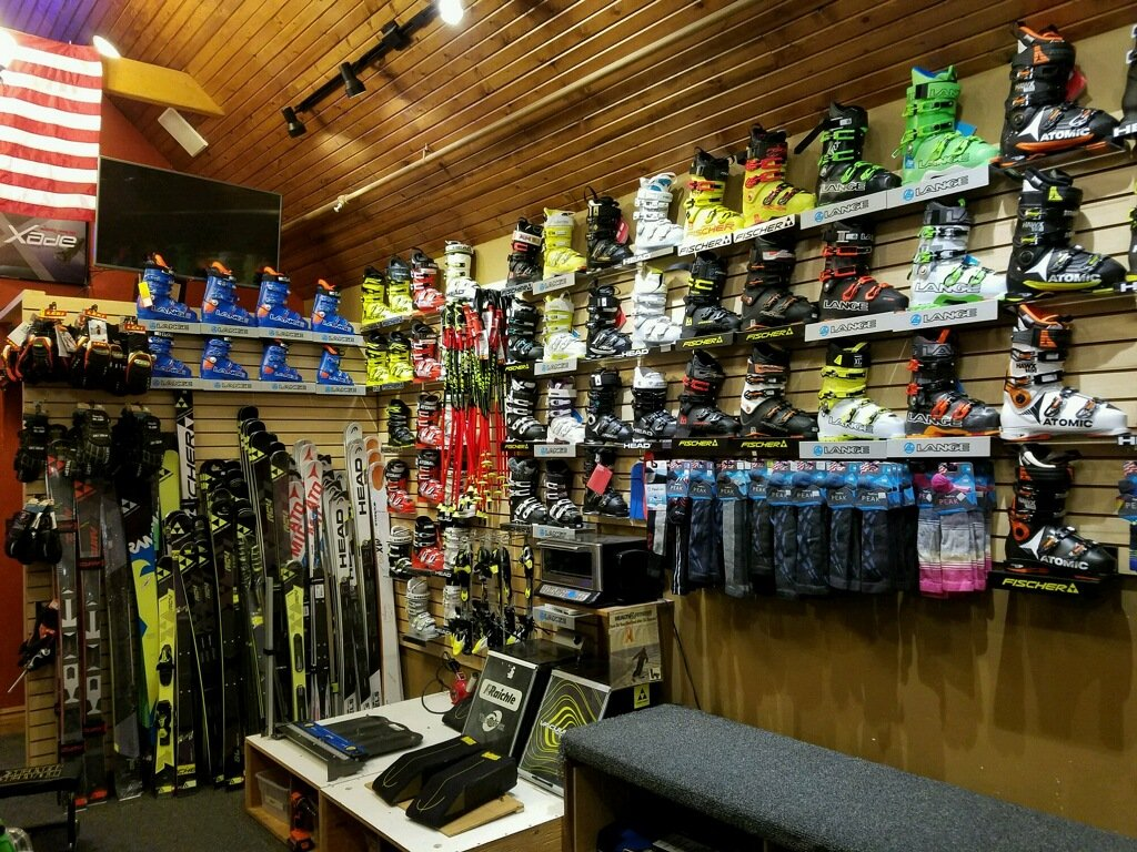 Race skis, ski boots, bindings, poles and gloves at Breckenridge's only race ski shop - A Racer's Edge .