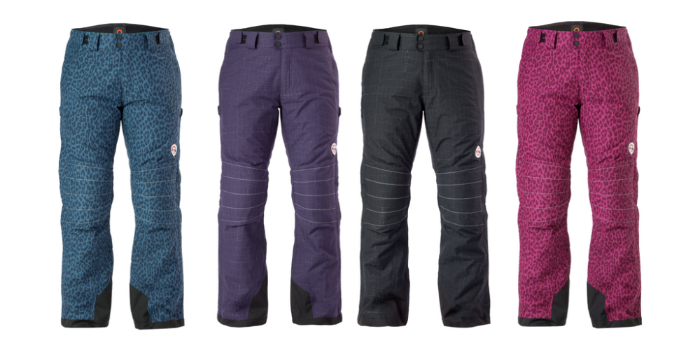 The newest Arctica side zip ski pants to the line, the Arctica Animal side zip pants offers 4 prints.