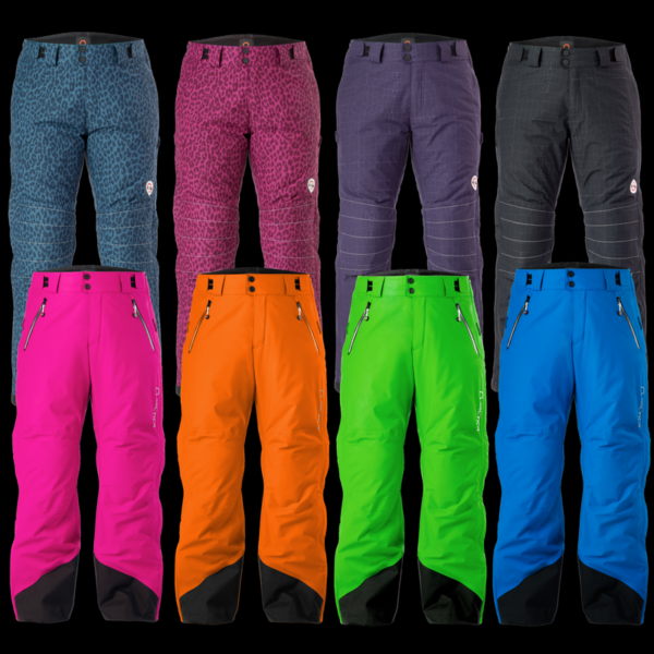 End of the season sale on closeout side zip pants for ski racers