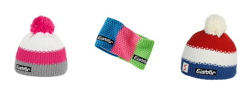 Eisbar hats and headbands are on every ski racer's wish list.