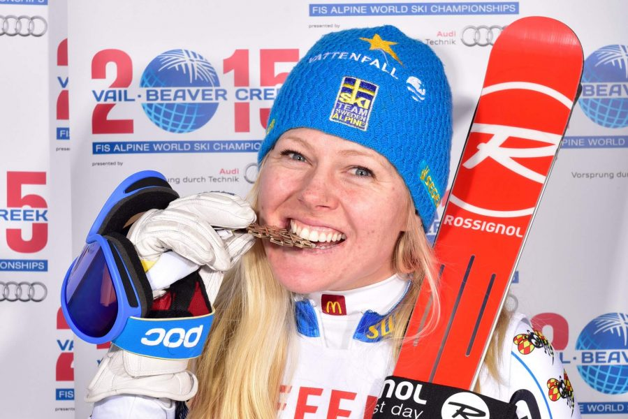 FIS Athletes Commission Rep 2016-2018 Jessica Lindell-Vikarby. Photo Credit: fis-sport.com