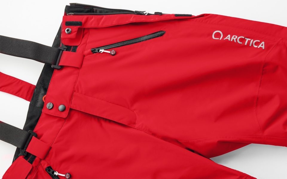 Red Race Training Shorts Top Detail
