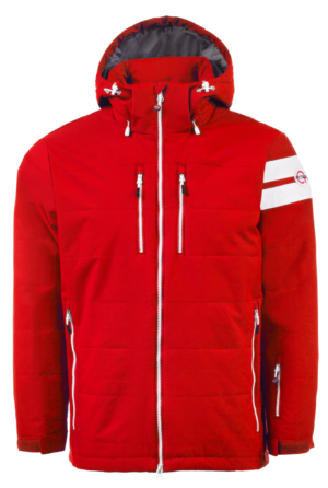 Red Front Jacket
