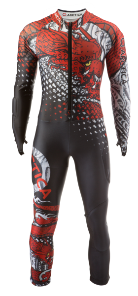 Tattoo Speed Suit Front product photo for the Arctica website.