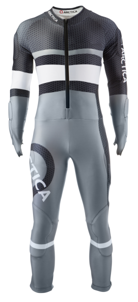 Charcoal Front Speed Suit