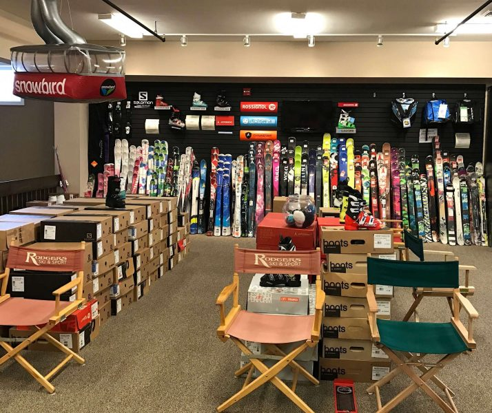 Rodgers Ski & Sport has a huge selection of skis and boots in the Junior Package Program.