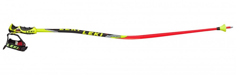"""Bendy Poles"" like the Leki WC GS Lite Trigger S poles from Leki are on every junior ski racer's wish list."