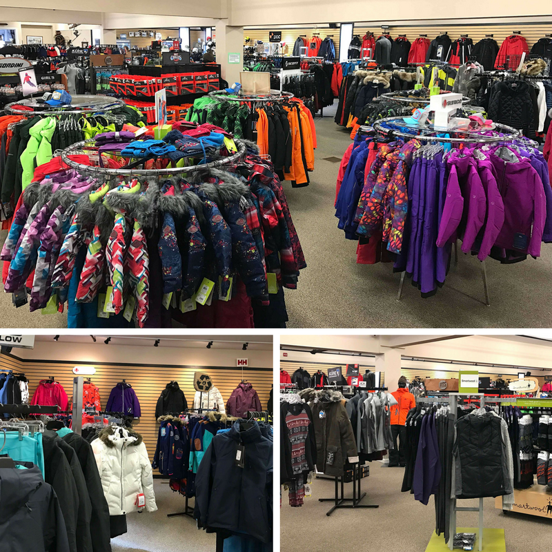 Clothing for men, women and kids at Rodgers Ski & Sport.