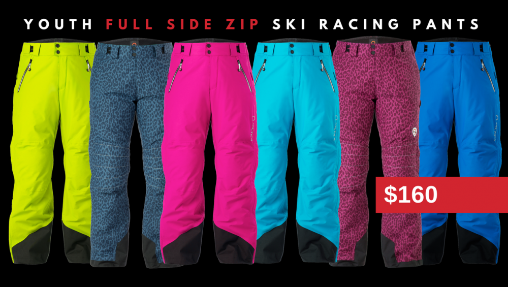 You don't have to wait for a President's Day Sale to buy Arctica Side Sip Pants. They are only $160 for youth and $180 for adults every day.